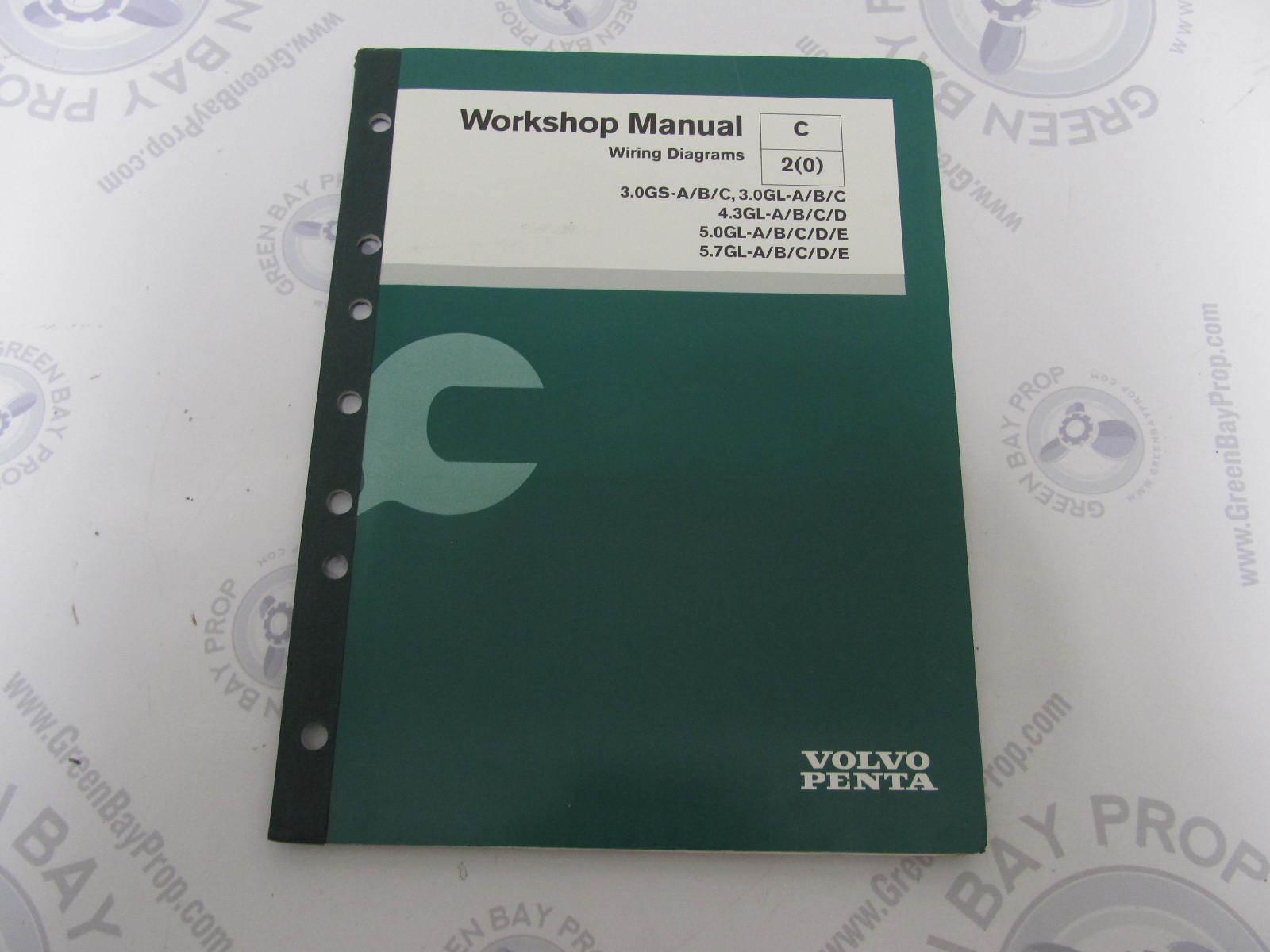 7743606 Volvo Penta Service Workshop Manual Wiring