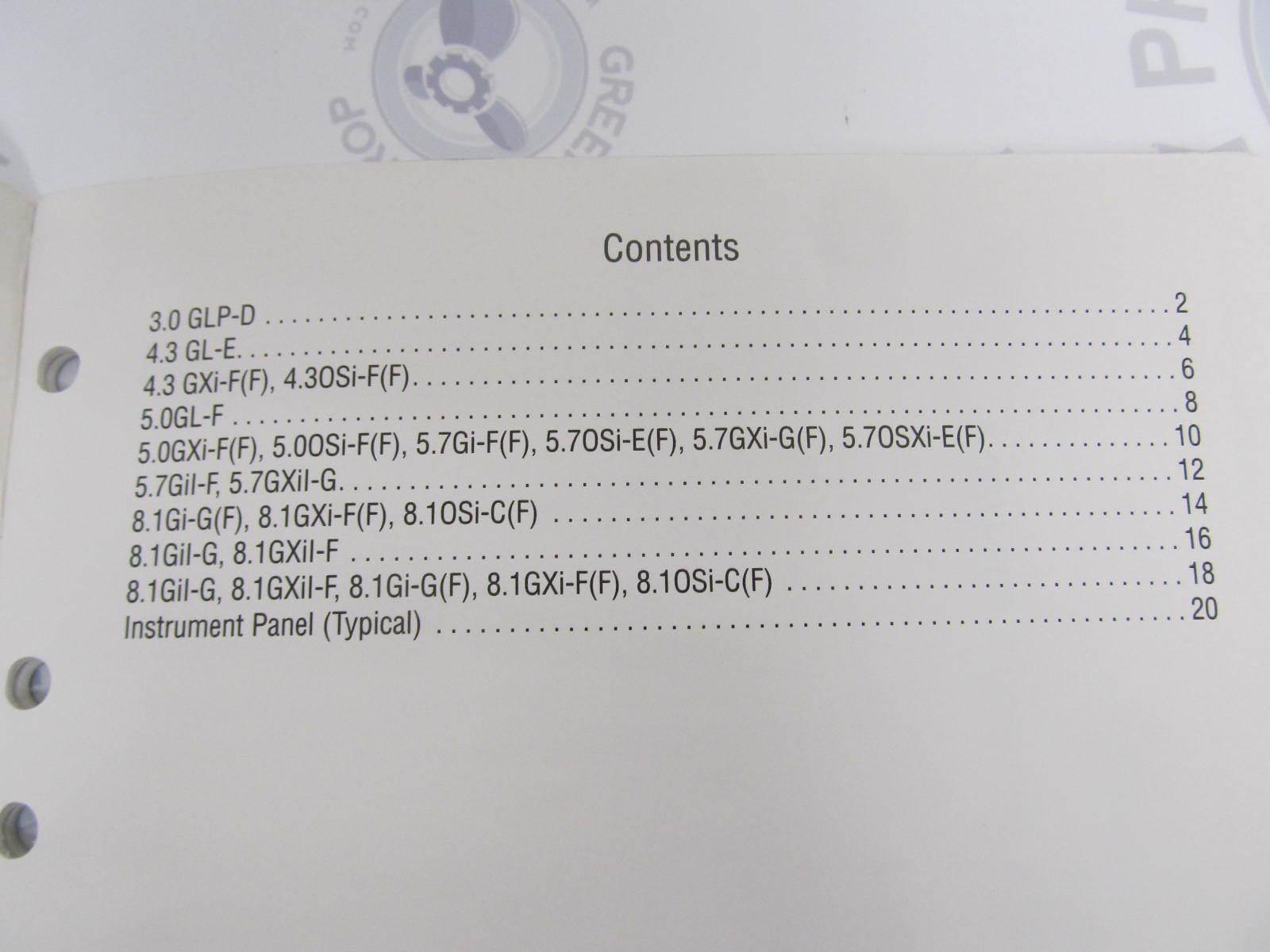 7745609 Volvo Penta Service Workshop Manual Wiring Diagrams | Green ...