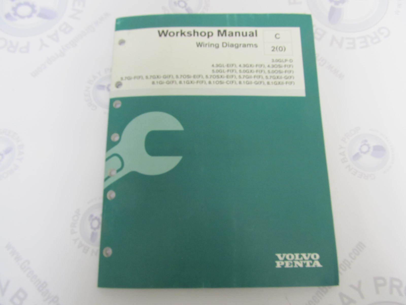 7745609 Volvo Penta Service Workshop Manual Wiring