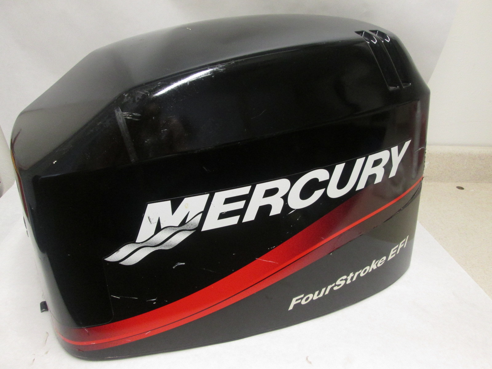 4019 825239t 3 upper top cowl mercury 4 stroke outboard 40 for Mercury outboard motor cowling