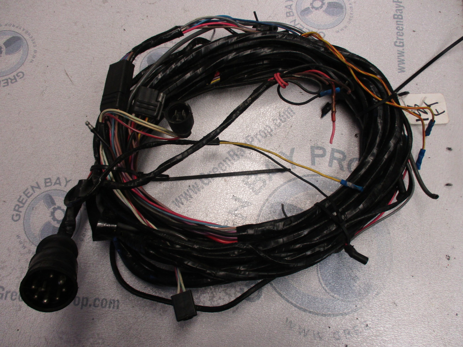 omc cobra chevy 5 7 v8 18 ft engine to dash wire harness ebay
