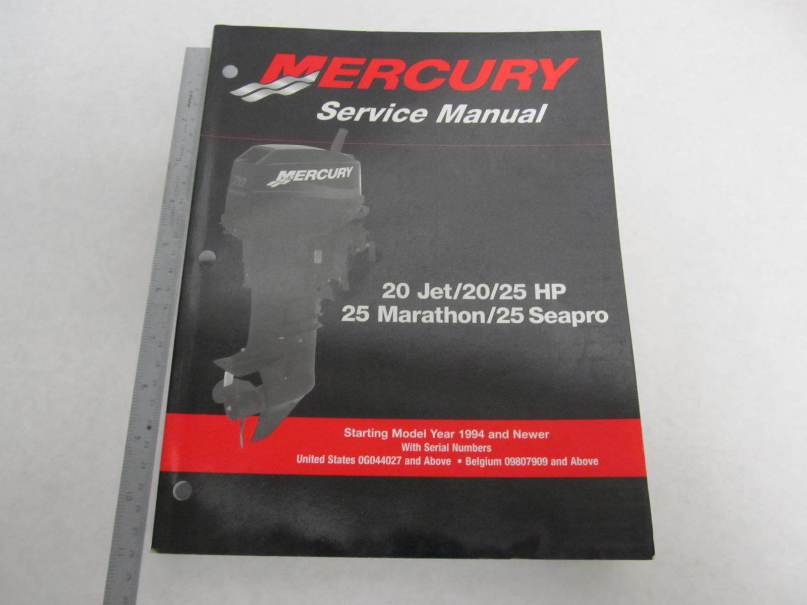 90 826883r03 mercury outboard service manual 20 25 hp  20 35 HP Mercury Parts mercury service manual - 35-125 hp