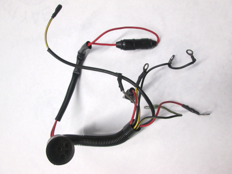 A mercury mariner wiring harness assembly