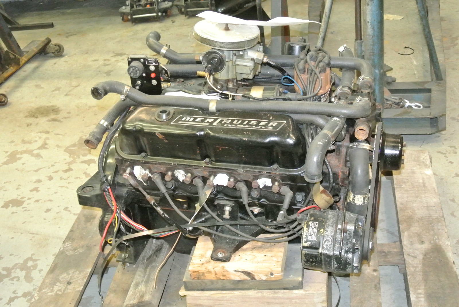 Mercruiser 5 0 Engine V8 Ford 302 Motor 1977 888 188hp Ebay