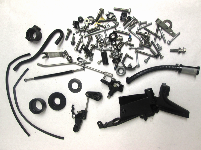 852484 Hardware Collection Mercury Outboard 1990's 10hp Hose Screws Washers