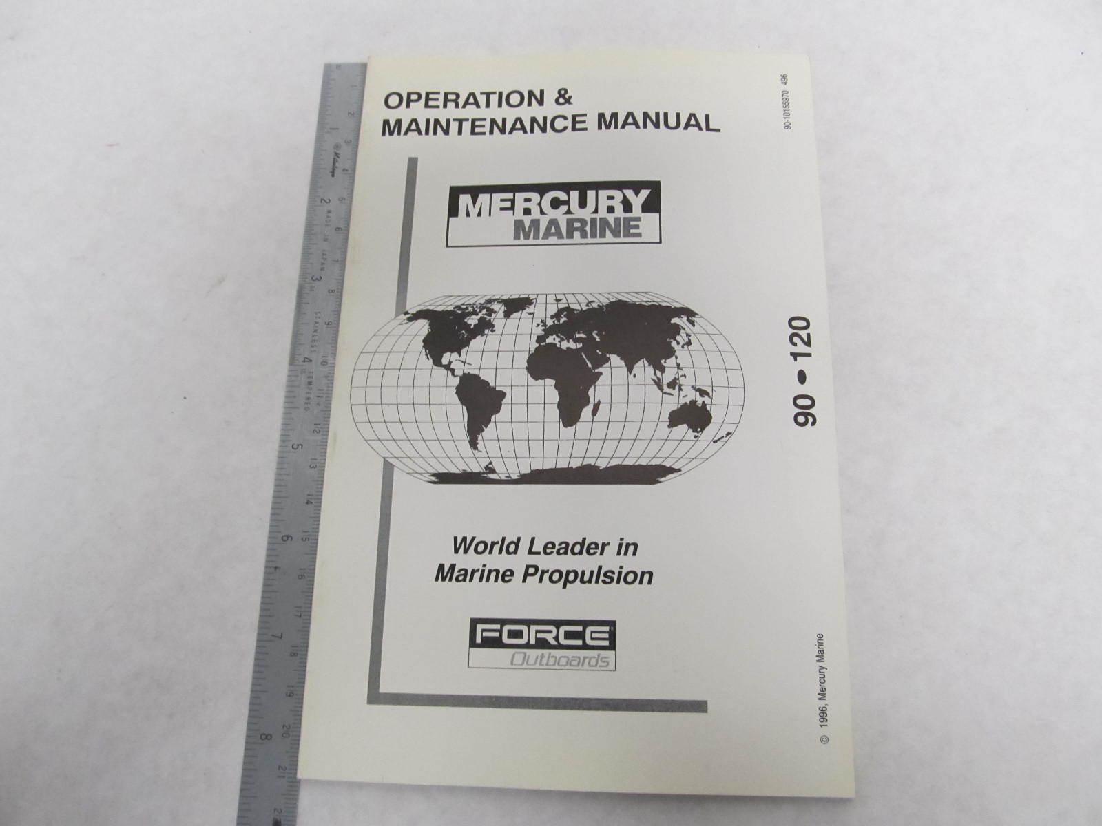 Mercury Force 120 Manual