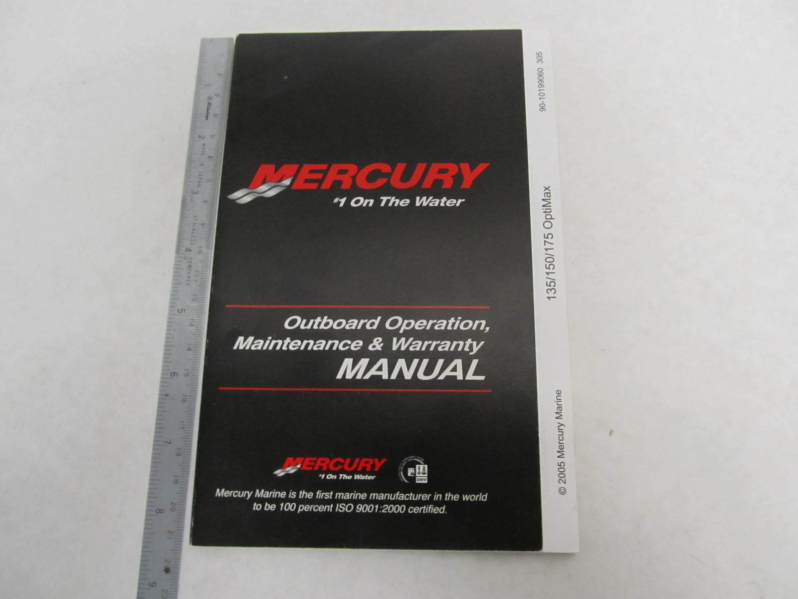 mercury outboard 150 hp manual