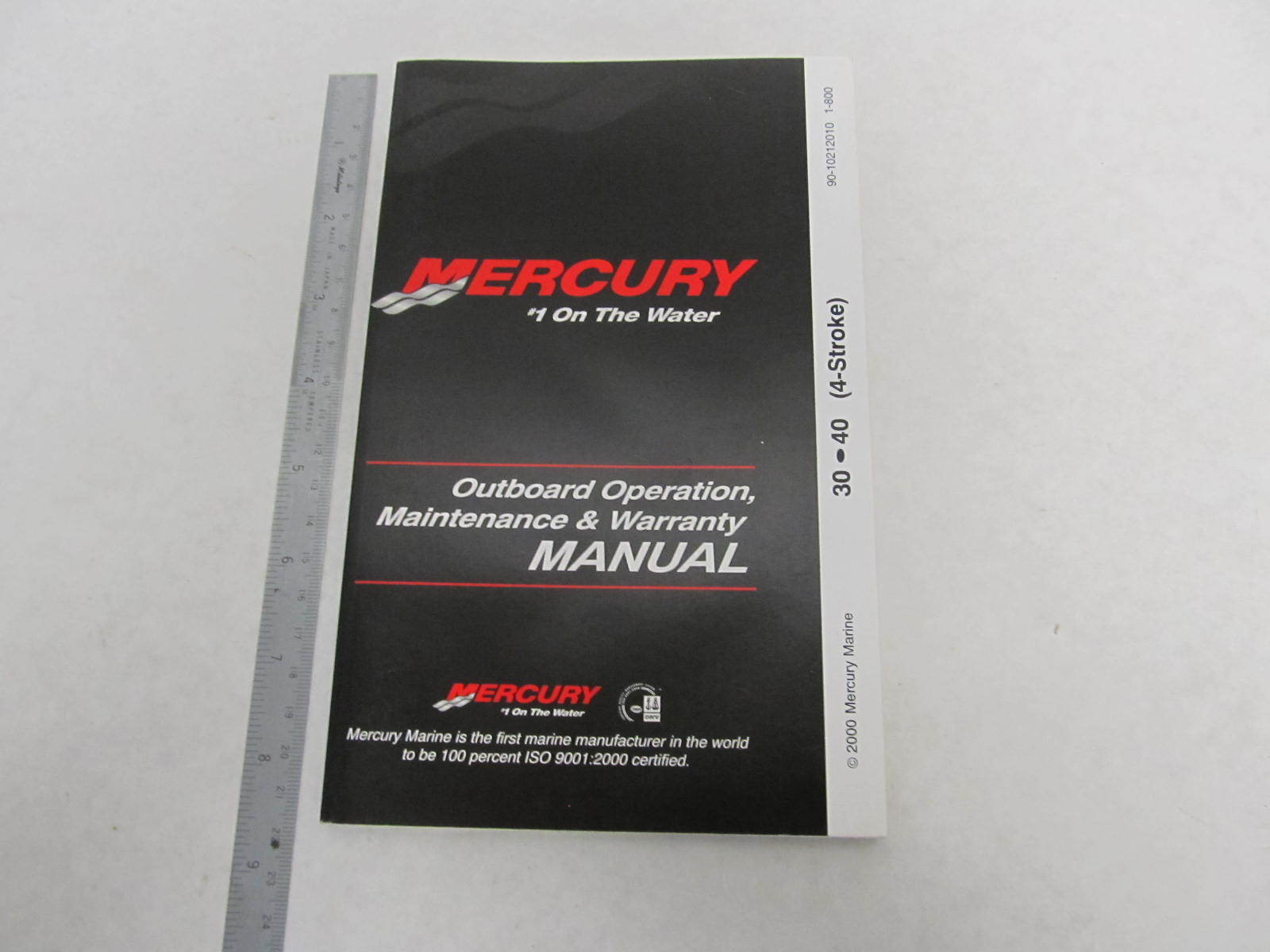 40 hp mercury outboard manual