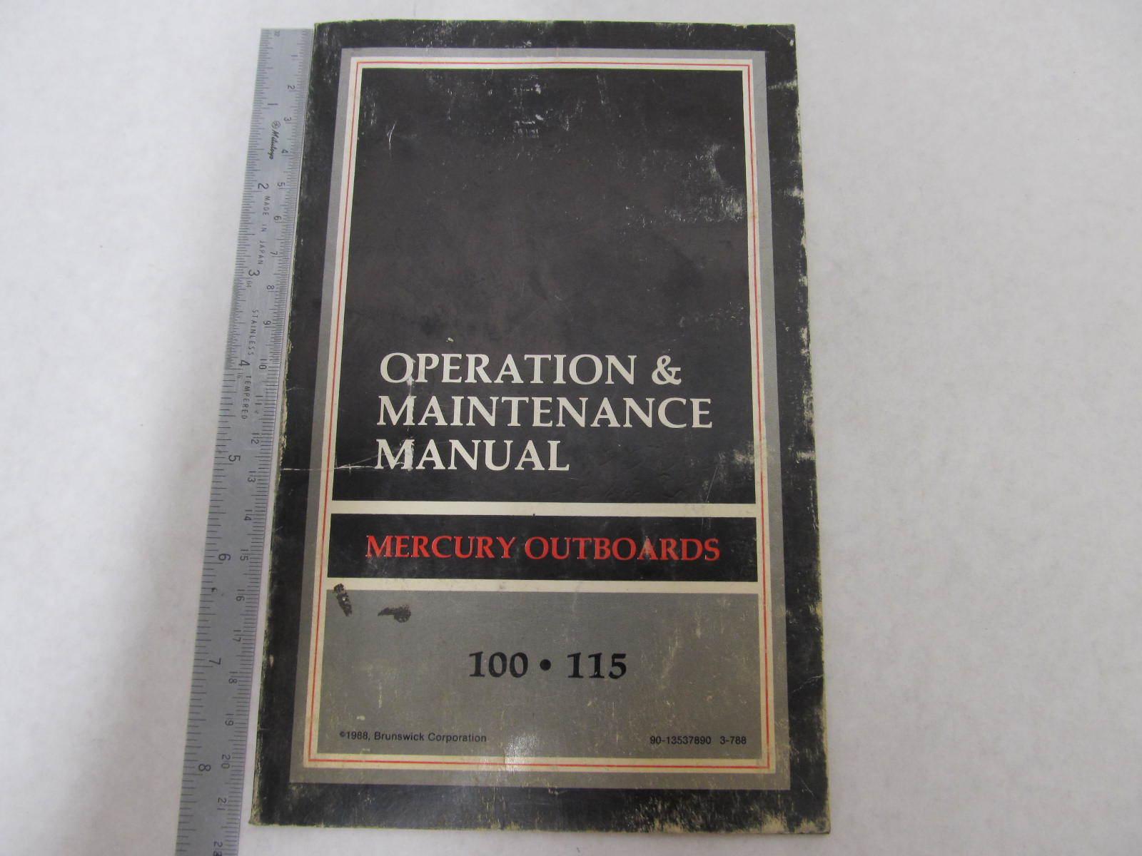 mercury 115 hp outboard 2 stroke manual