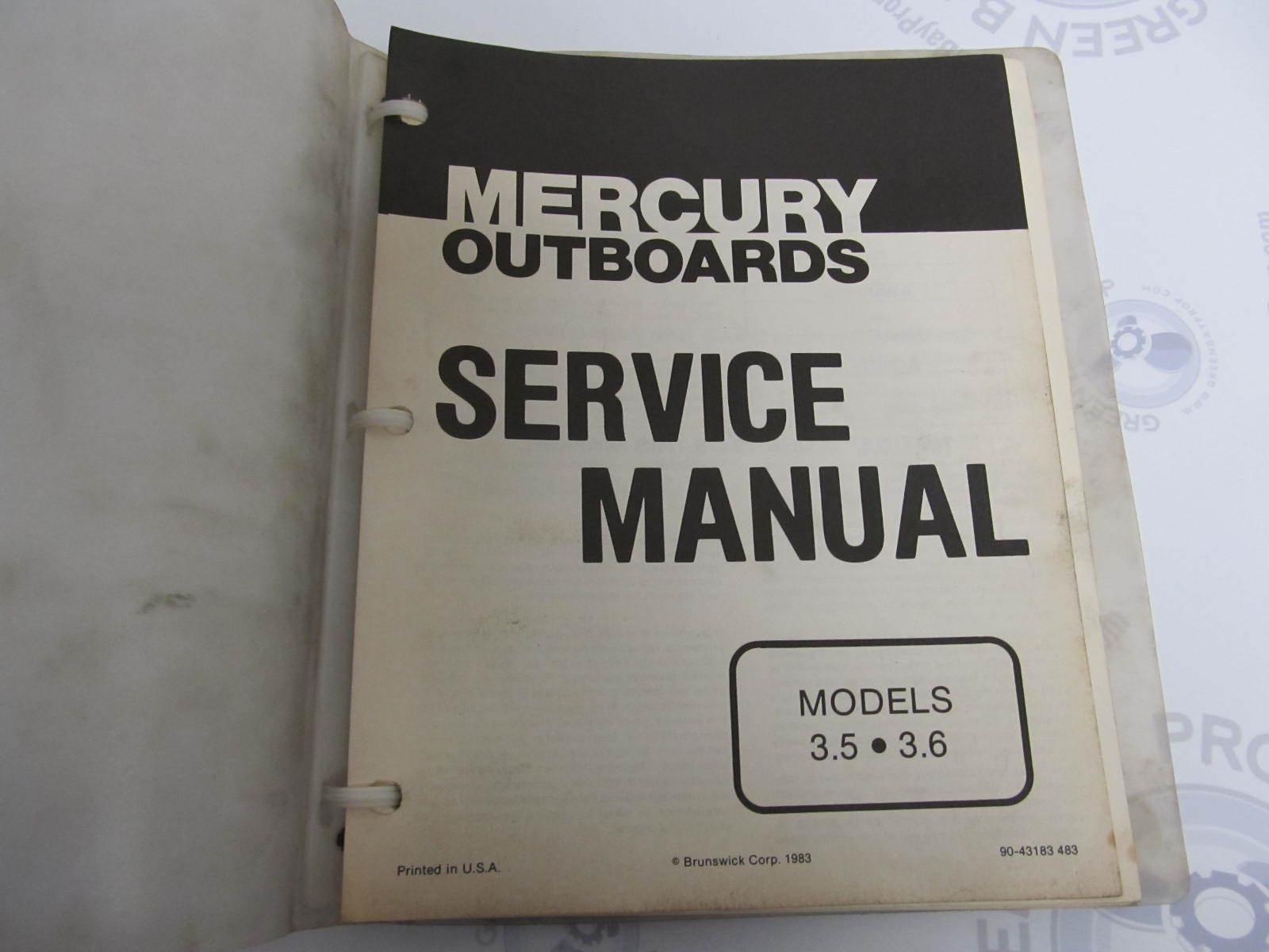 Omc stinger engine manual