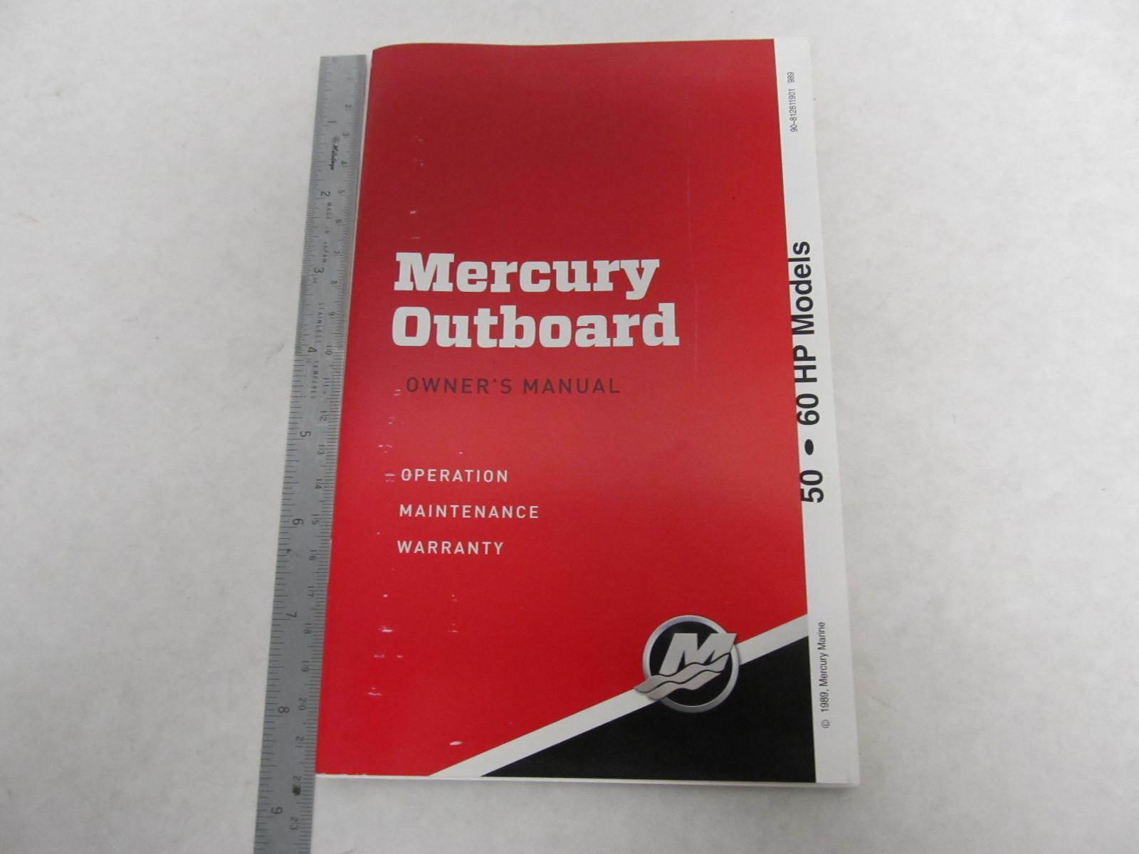 mercury 50 hp outboard manual
