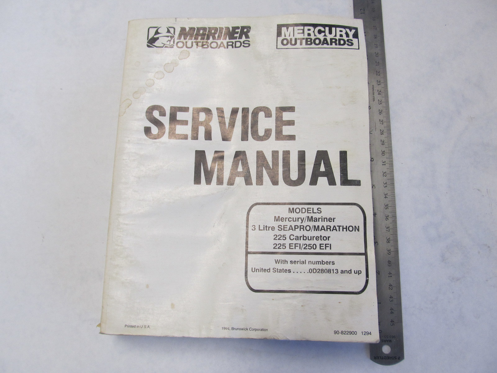 Mercury Mariner Outboard Service Manual