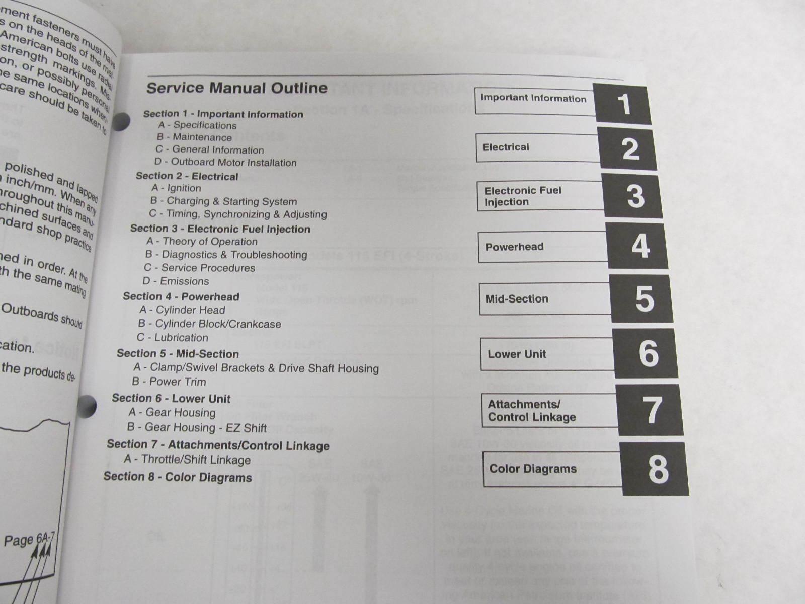 Mercury Outboard Service Manual 115 Hp 4 Manual Guide