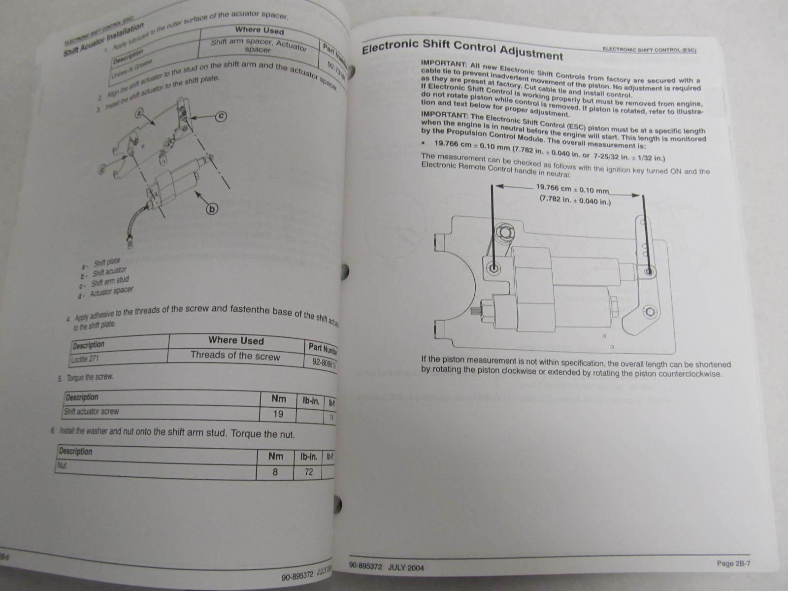 90-895372 mercury mercruiser smartcraft dts 10 pin service ... mercury dts wiring diagram 2002 mercury outboard wiring diagram #14