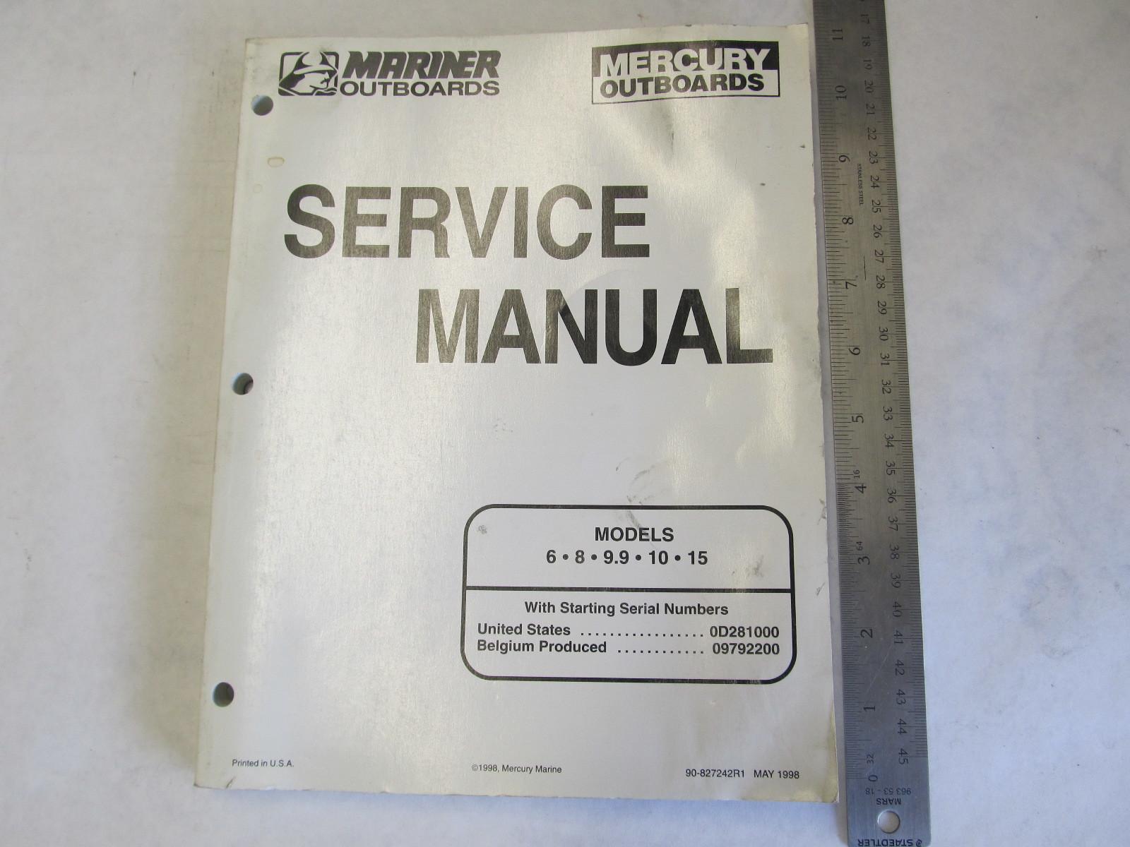 1987-1993 mercury matrix 6 user manual mariner outboard motors 2 stroke 70  75 80 90 100 115 hp service repair manual ; 1995-2004 yamaha mercury &  mariner ...