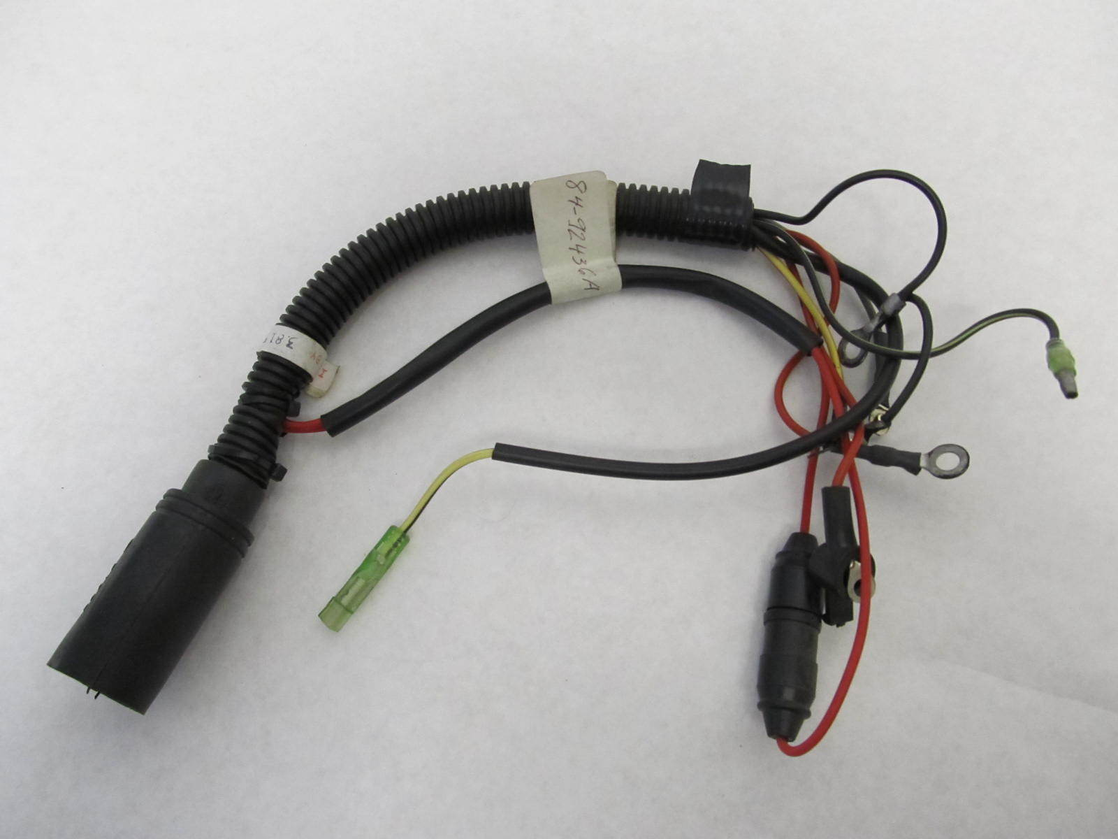 mercury outboard tachometer wiring harness 84-92436a9 engine wiring harness mercury mariner 15-25 hp ... mariner outboard boat wiring harness #13
