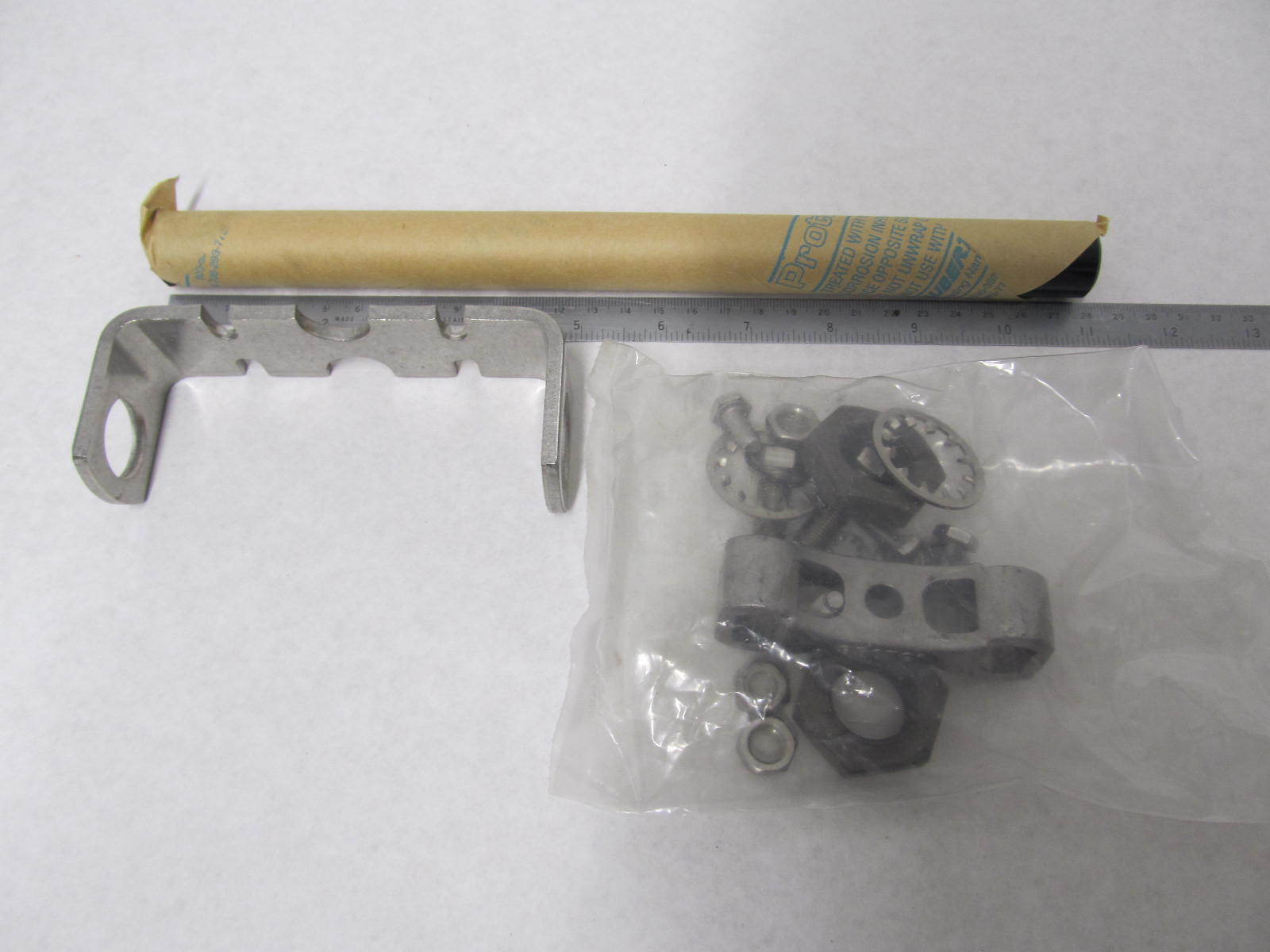 92876a8 dual cable steering attaching kit mercury mariner for Outboard motor steering cable replacement