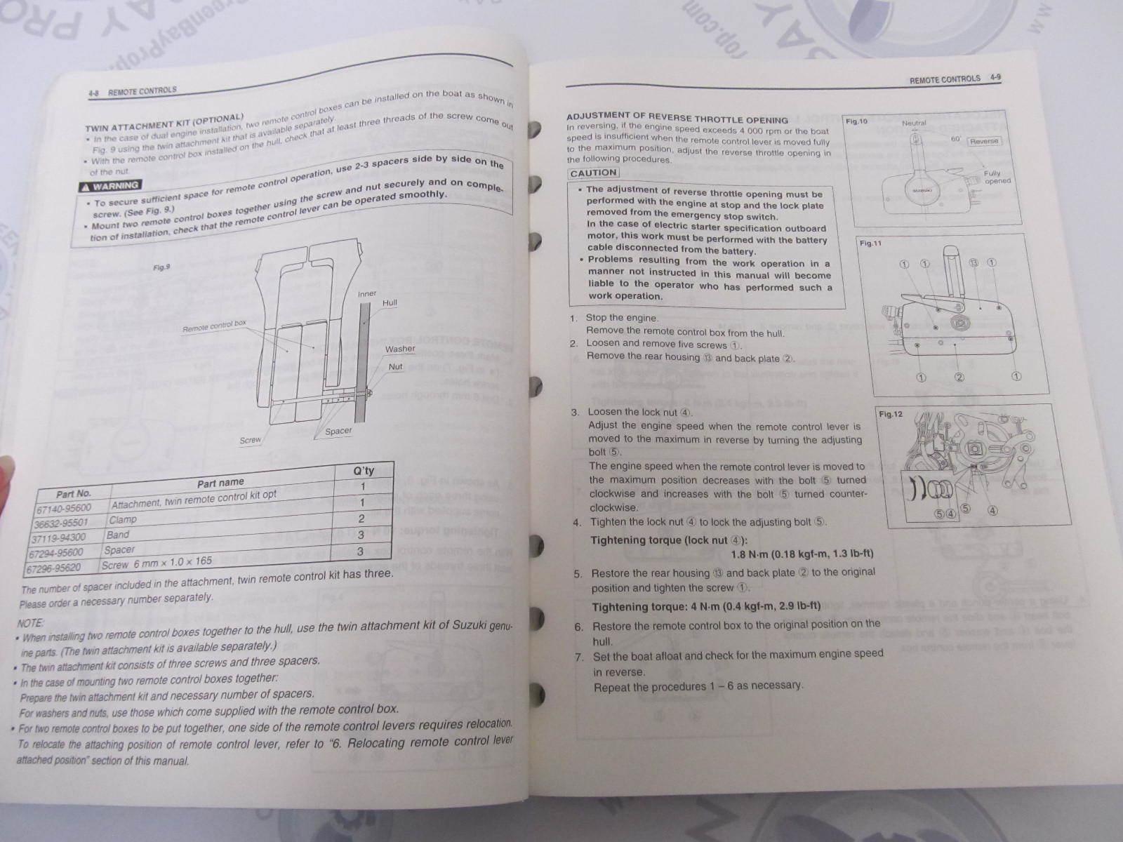 suzuki outboard motor repair manual