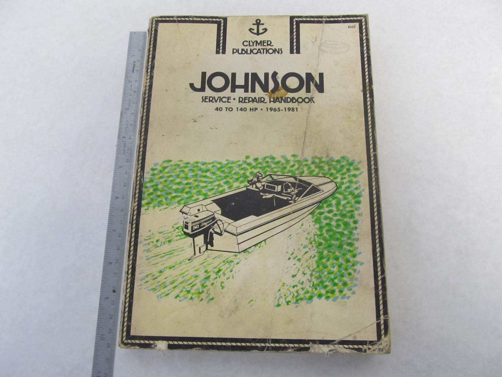 johnson 40 hp outboard manual