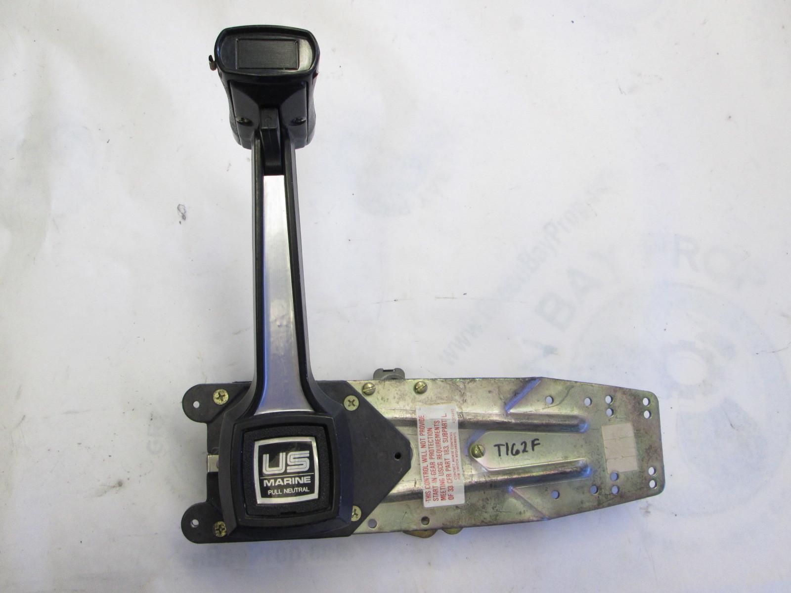 Boat Throttle Handle : Bayliner capri boat throttle remote control omc mercury