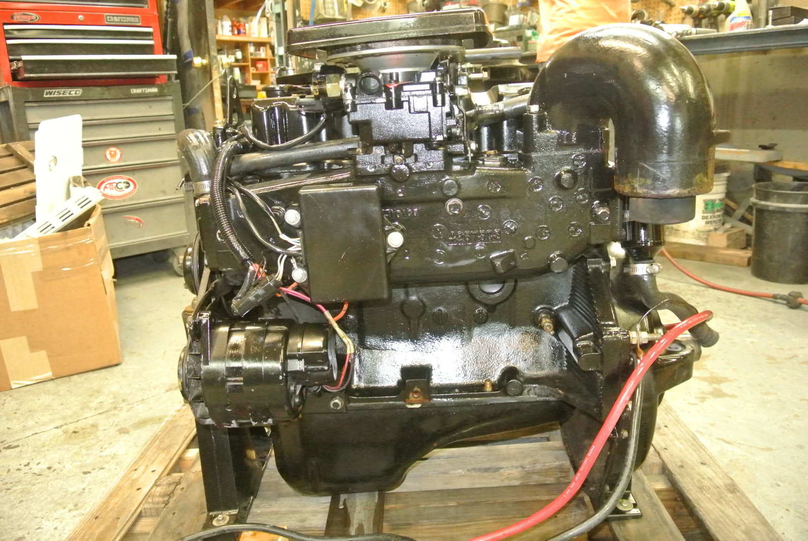 Mercruiser Alpha One Motor 140 Hp 4 Cylinder 3 0 Liter