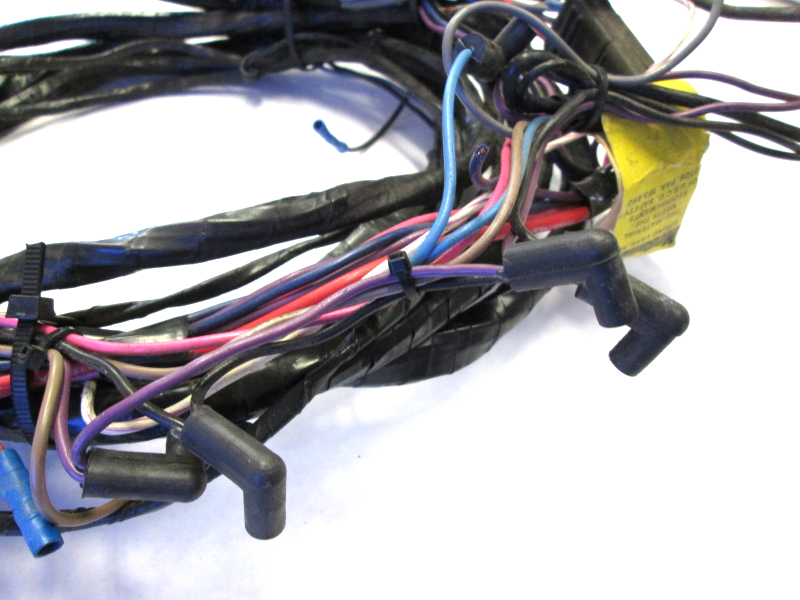 wire harness engine to dash omc cobra 16 ft 8 pins ebay