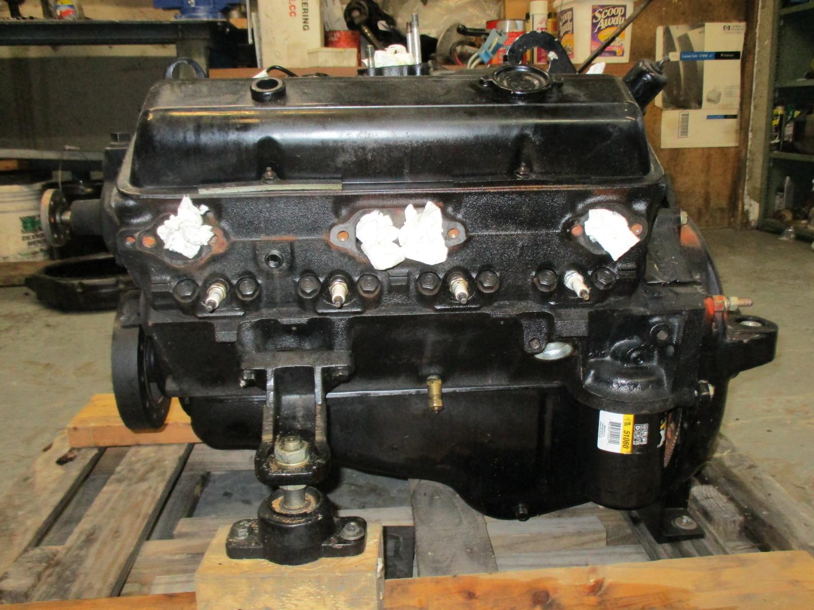 mercruiser or omc 198 hp v8 chevy gm 305 ci engine motor ebay. Black Bedroom Furniture Sets. Home Design Ideas