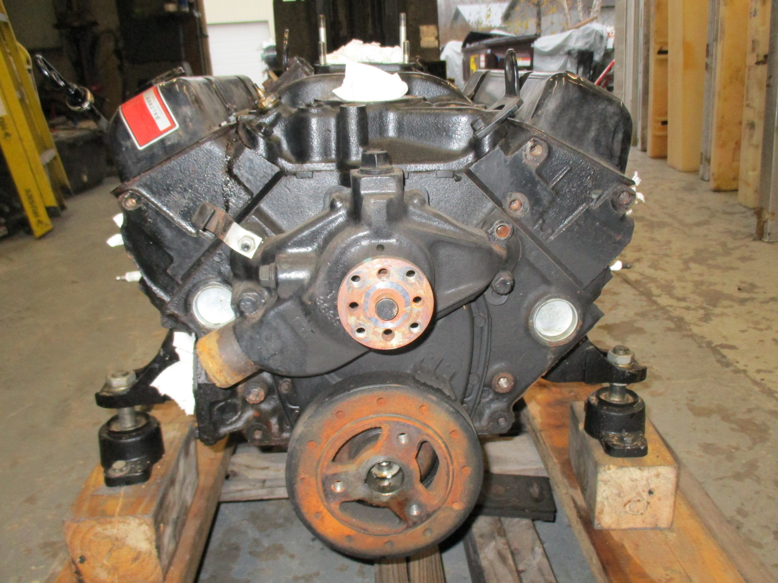Mercruiser 260 Hp V8 Chevy Gm 350 Ci Engine Motor