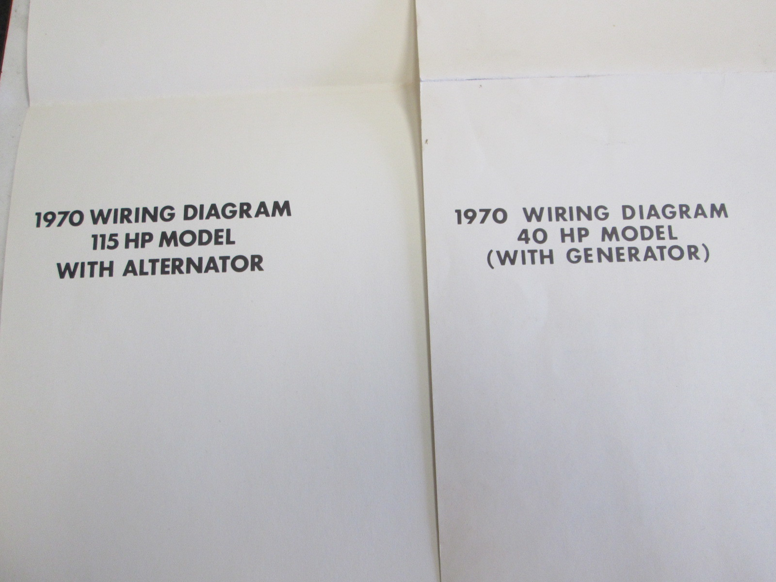 1970 Evinrude  U0026 Johnson Outboard Ignition Wiring Diagrams