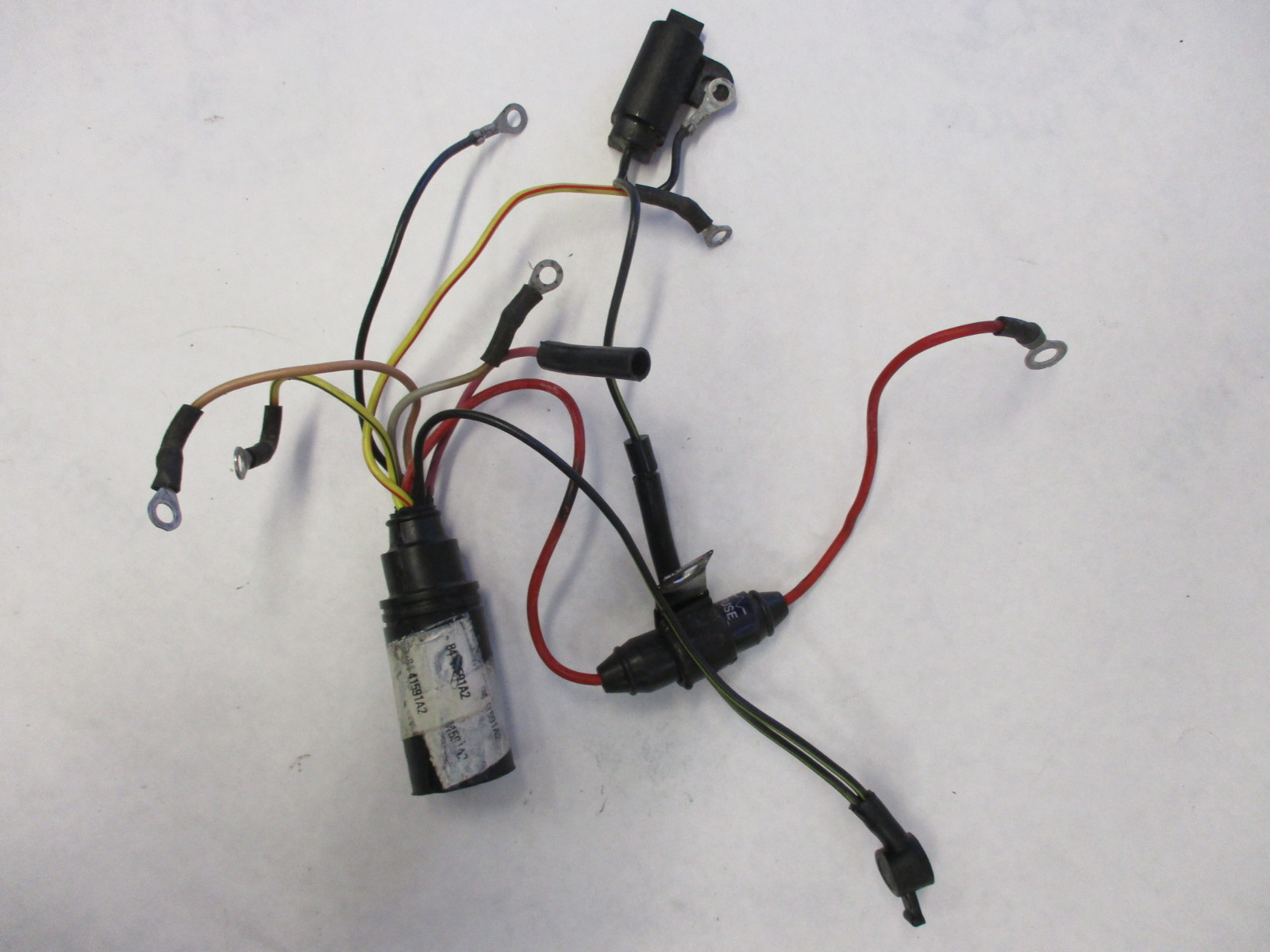 Wiring Harness For Mercury Outboard Motor Diagrams 45876 Mercruiser 41591a3 Engine Wire For70 90 Hp 3 Cyl Diagram