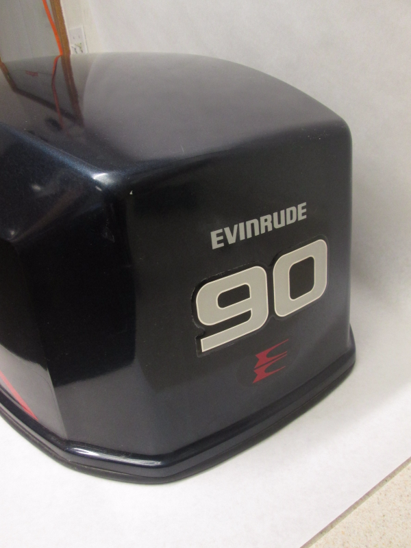 Engine Cover Evinrude Johnson Top Motor Cowling 90 115 Hp