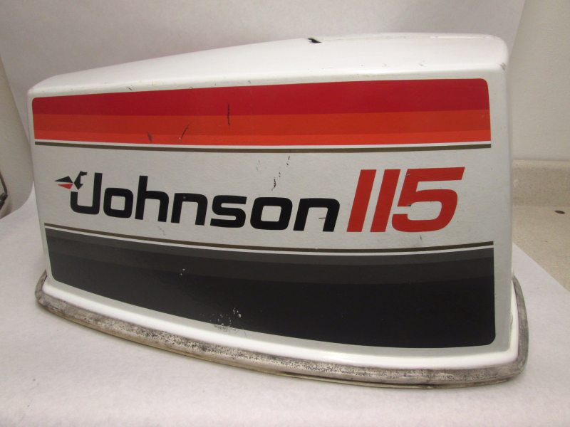 115 hp v4 top cowling motor cover assy johnson evinrude for 115 johnson outboard motor