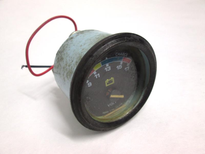 Marine Battery Gauge : Equus volt gauge for parts freshwater boat marine battery
