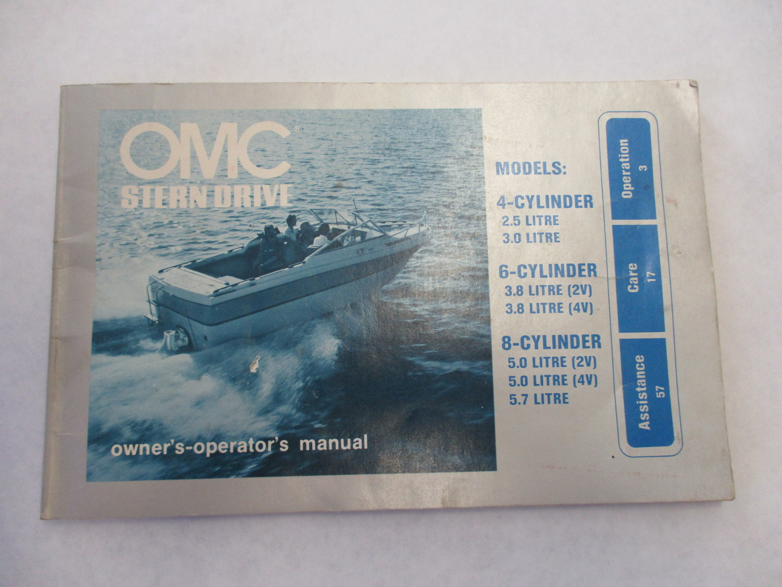 Omc cobra 5 0l manual array sell omc sterndrive owner u0027s operator u0027s manual 4cyl v6 u0026 v8 rh 2040 fandeluxe Images