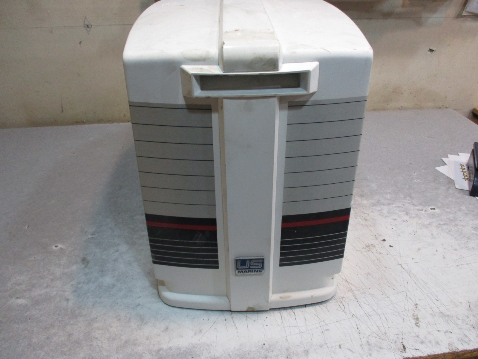 Boat cowling 1985 125 hp force outboard cover top hood cap for 125 hp force outboard motor for sale