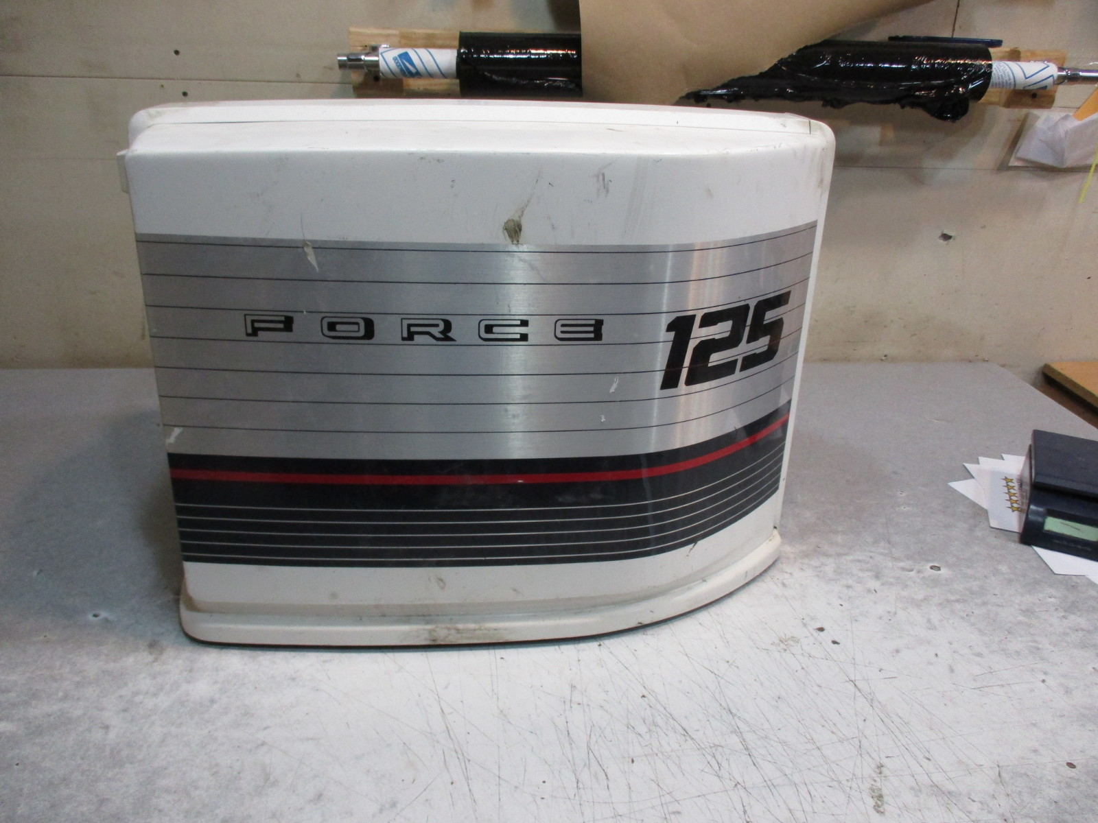 Boat cowling 125 hp force outboard cover top hood cap for 125 hp force outboard motor for sale