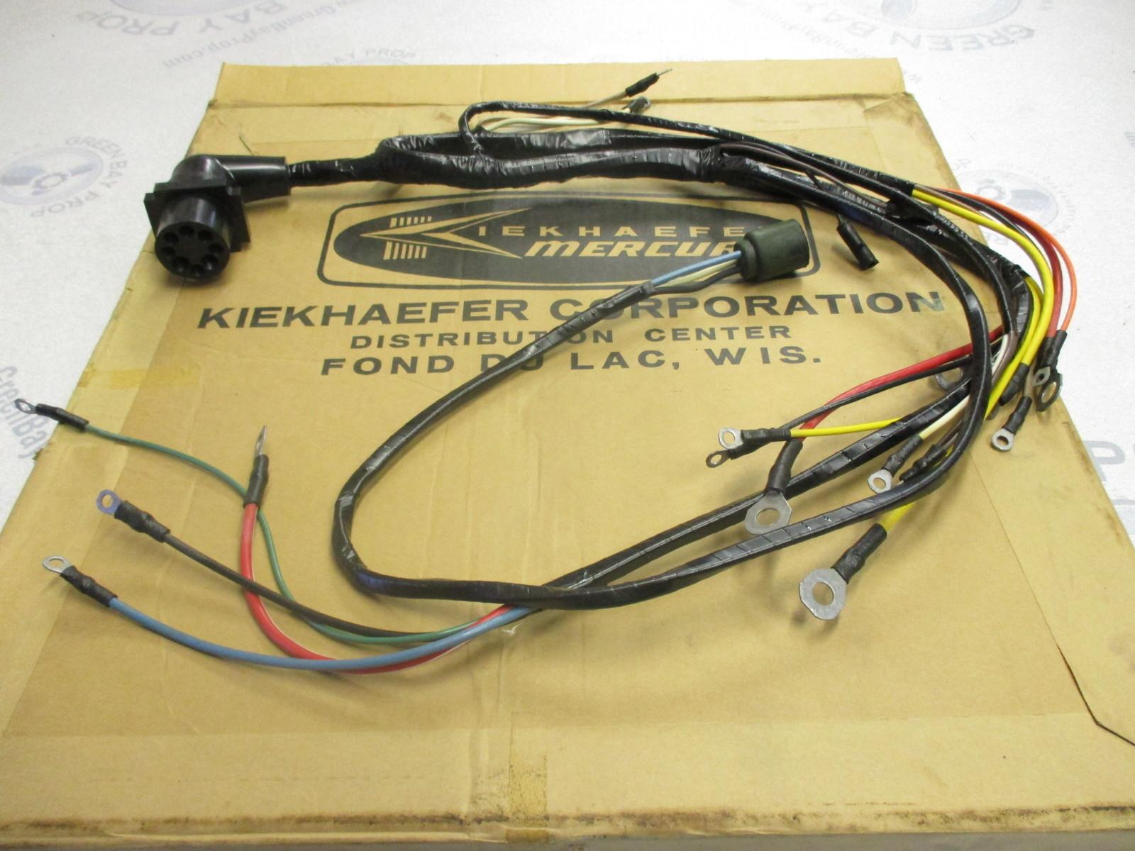 Wiring Harness For Mercury Outboard Motor : A mercury kiekhaefer engine motor marine wire