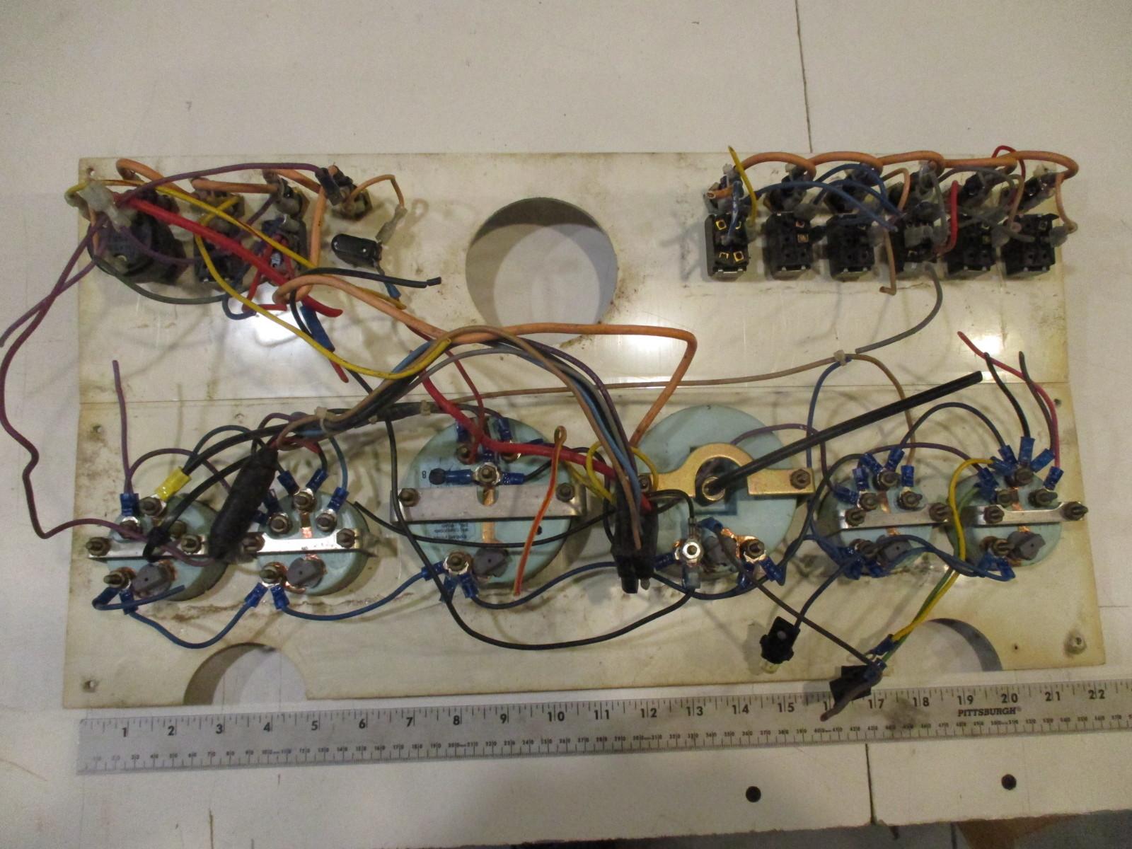 1984 renken boat dash panel gauges instrument cluster. Black Bedroom Furniture Sets. Home Design Ideas