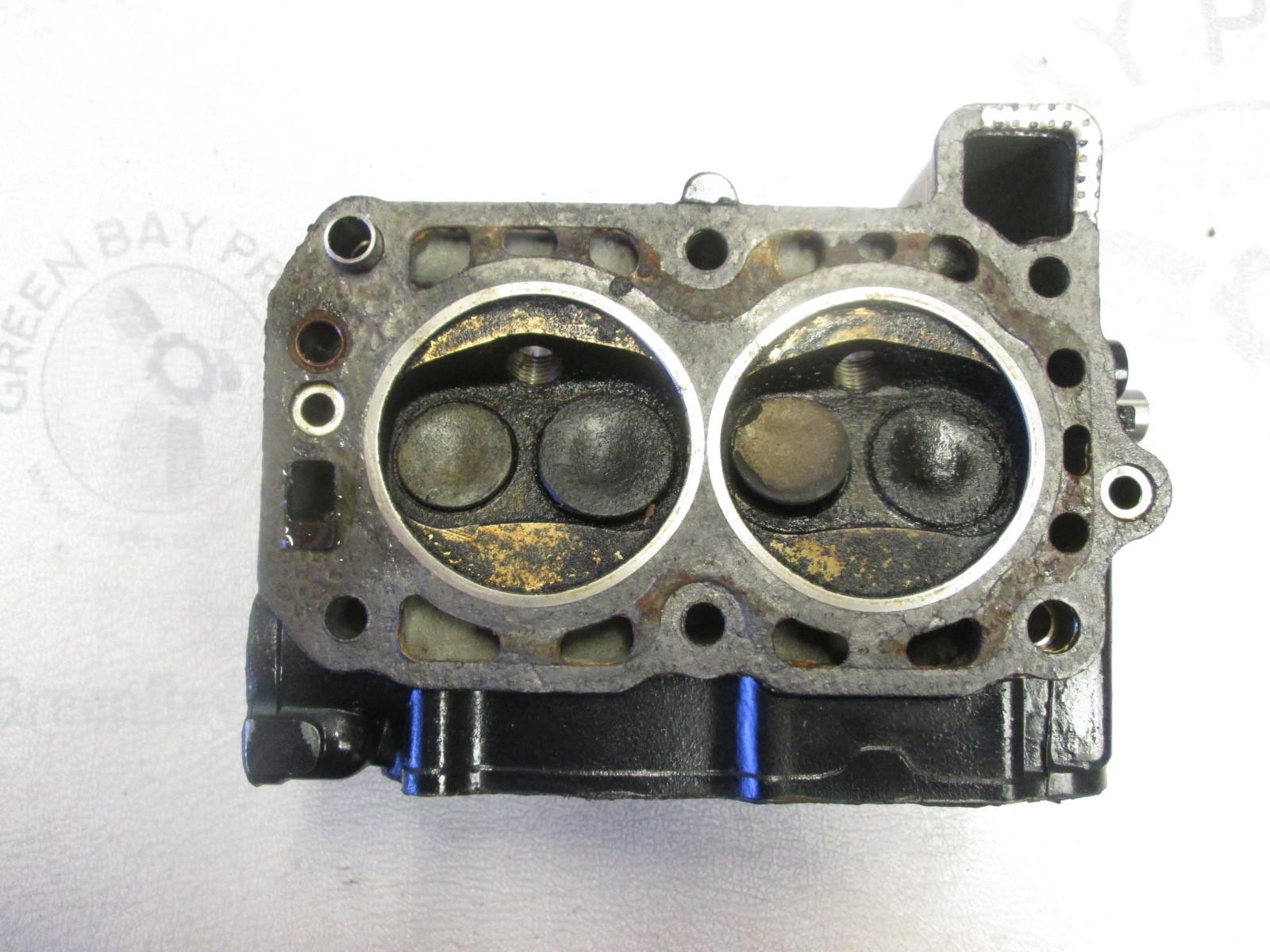 Cylinder Head Assembly : Cylinder head assembly evinrude johnson hp