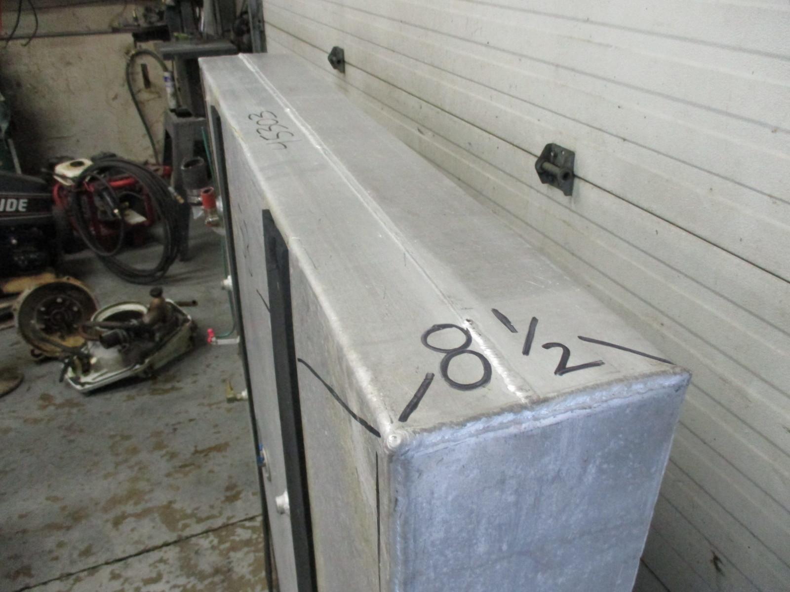 Aluminum Boat Gas Tank 98 Gal 53 Quot X 53 Quot X 8 1 2 Quot Green