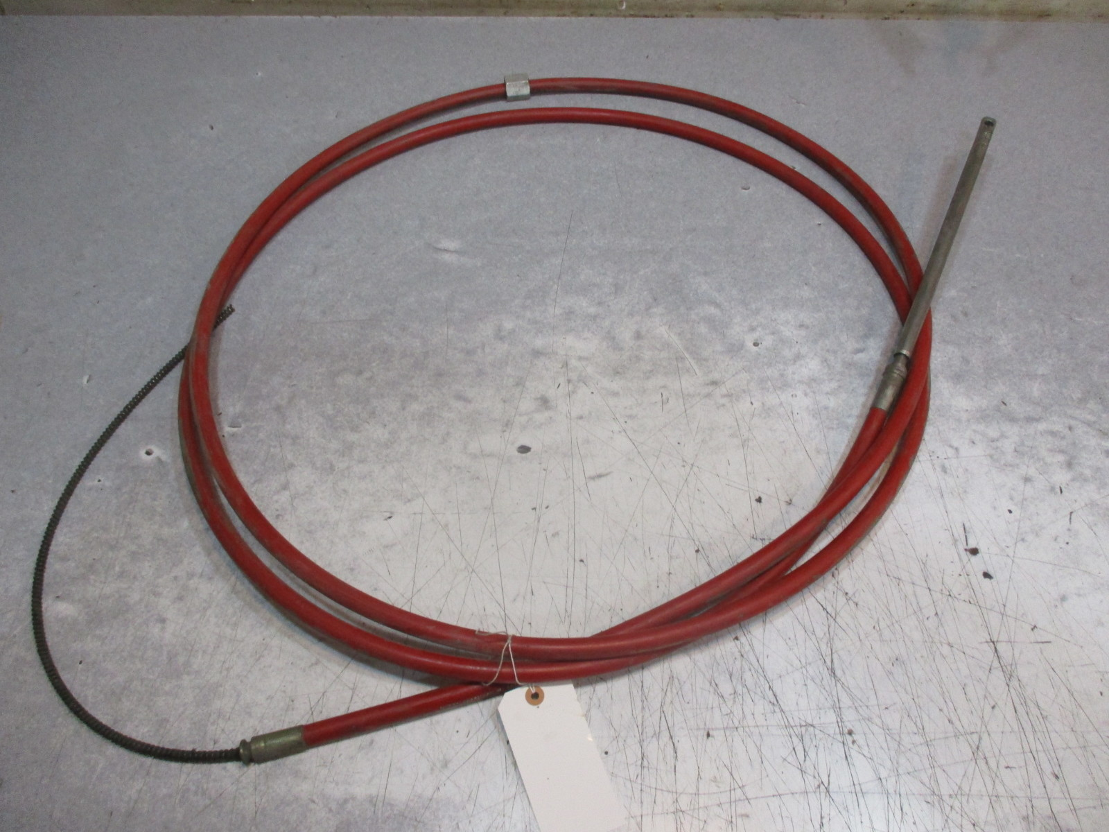 304411 216 Morse Rotary Steering Cable 18 Foot Marine Boat