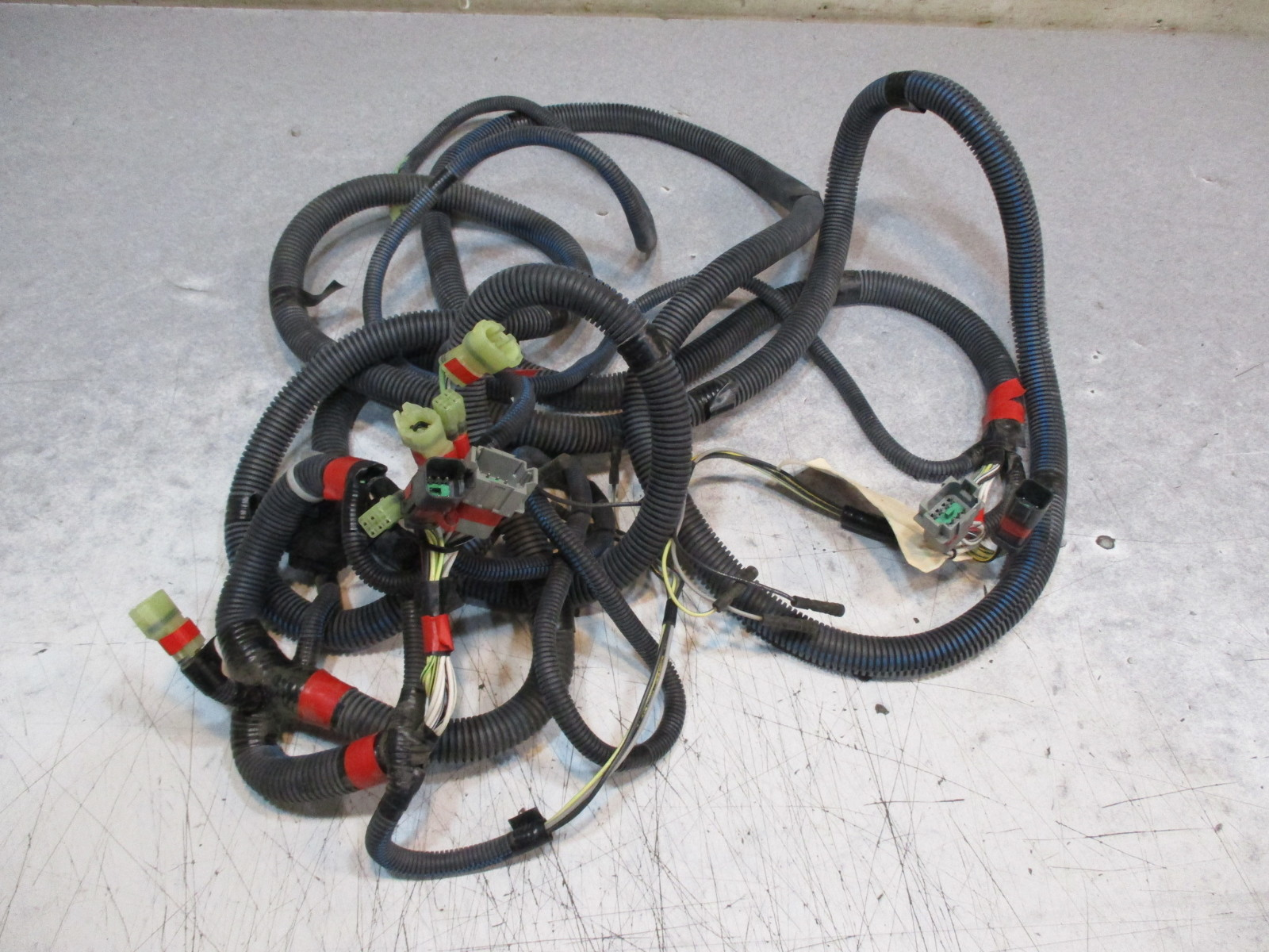 Zw ah honda marine boat engine to dash wire