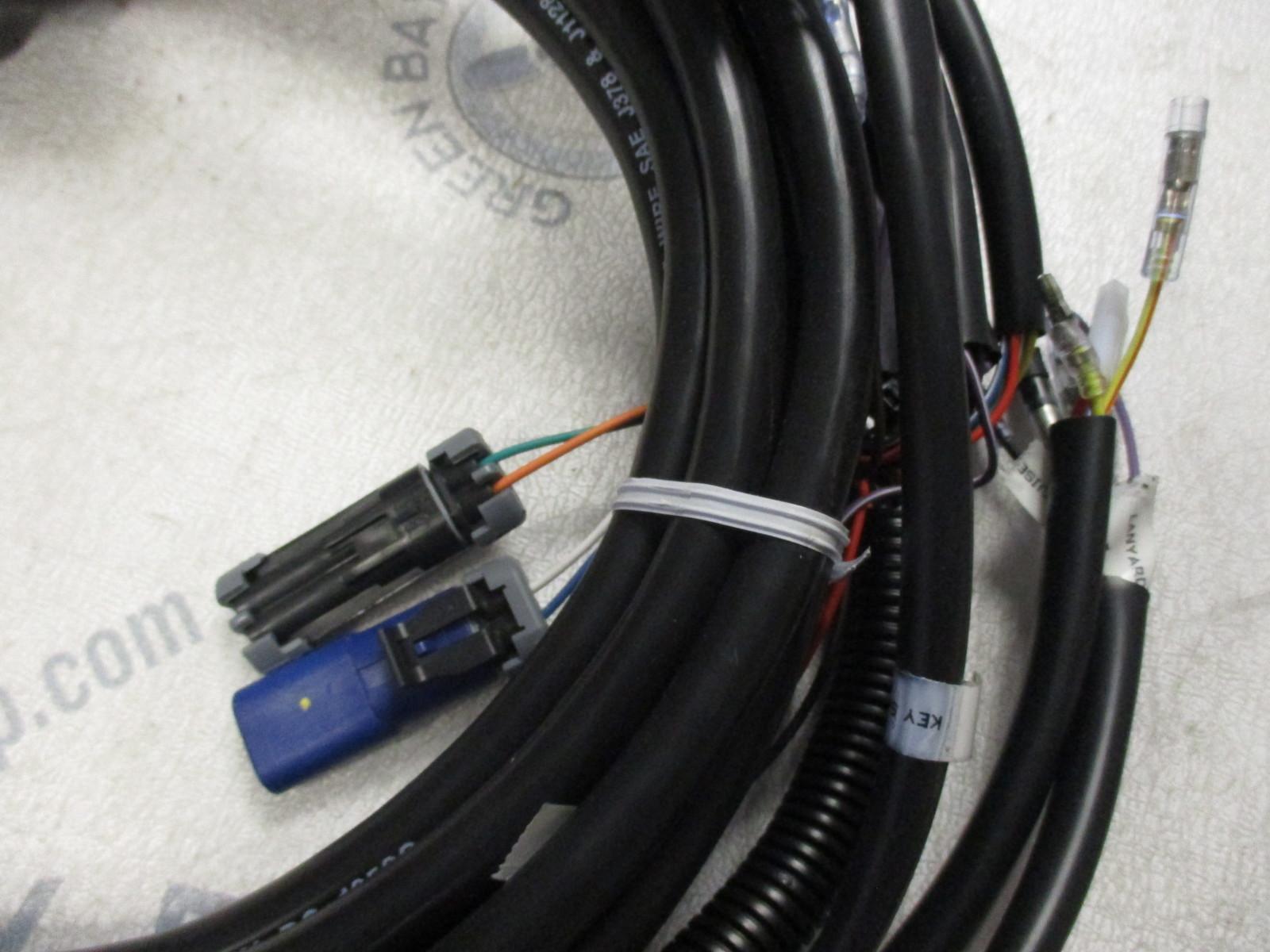84 896537k20 mercury outboard smartcraft 20 ft instrument wire harness k ebay