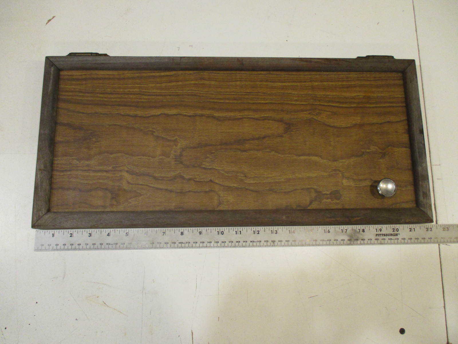 1984 renken marine boat wood cabinet cabin door 22 x 9 7 for Boat cabin entry doors