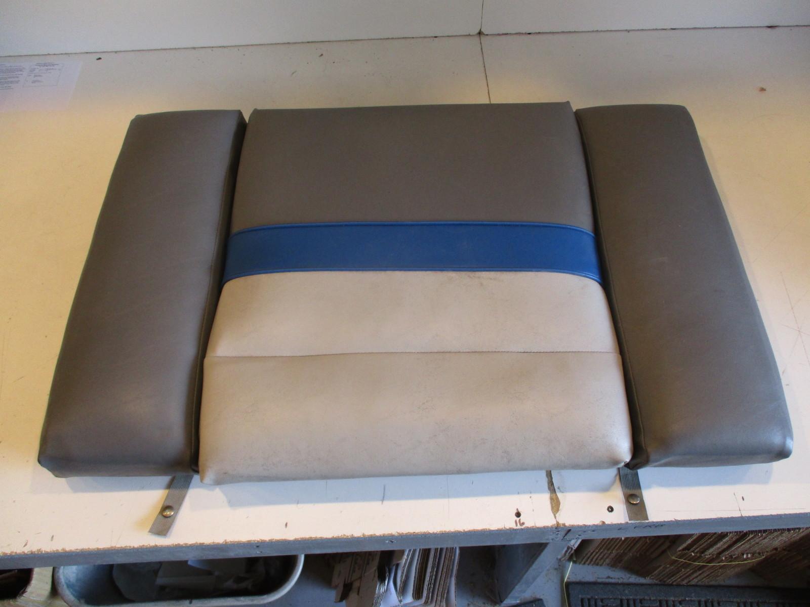 Bayliner Boat Parts Green Bay Propeller Marine Llc 1987 Capri Bowrider Wiring Diagram Rear Stern Seat Cushion Grey Blue 385