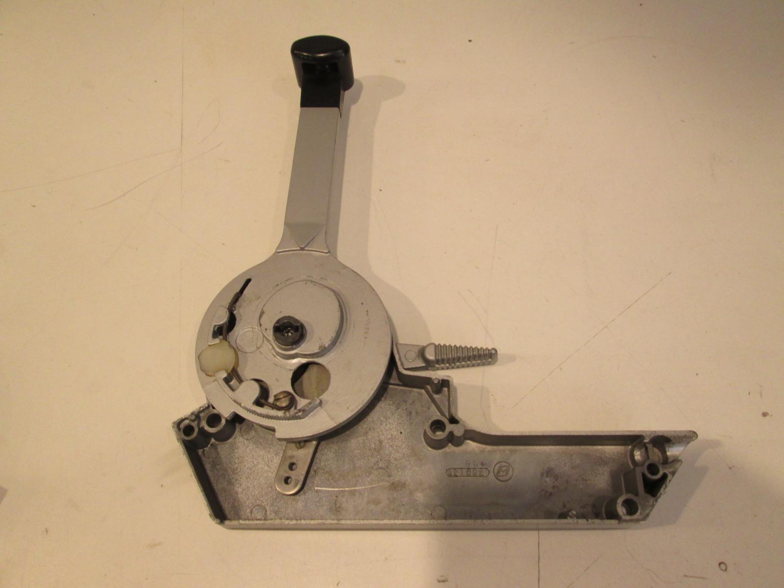 Omc Single Lever Control : S vintage omc evinrude johnson single lever remote