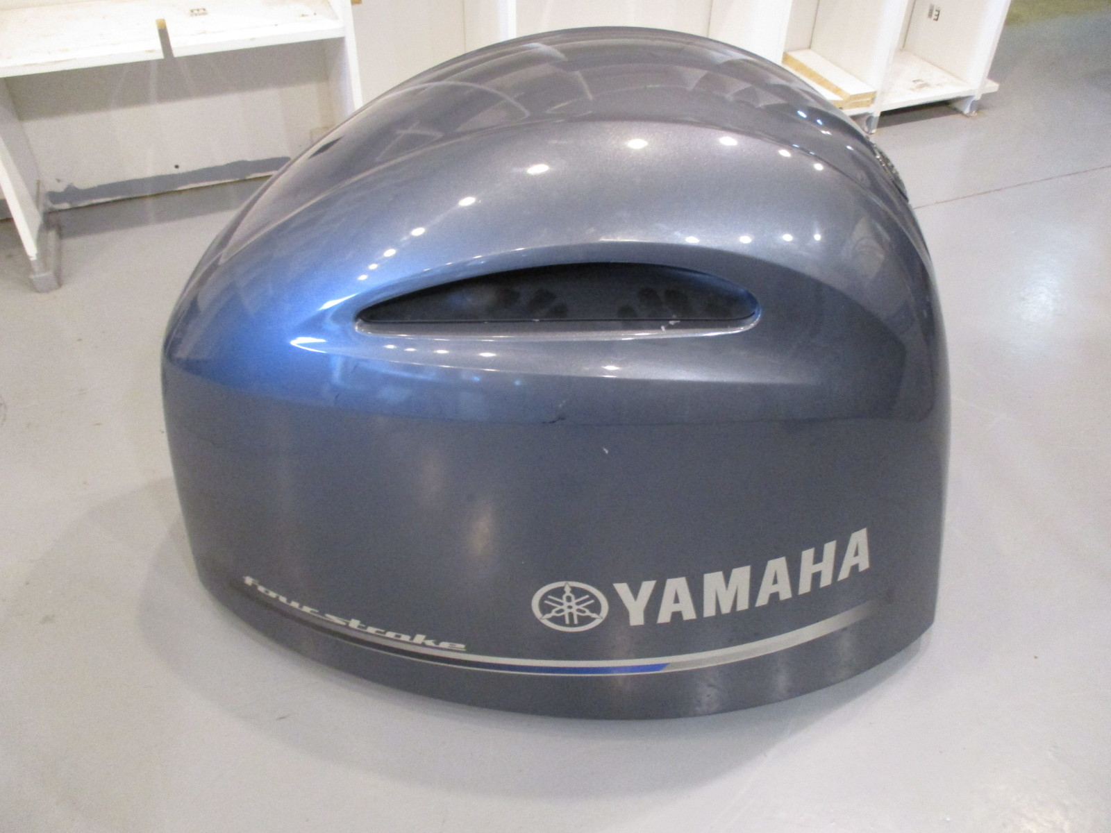 Yamaha outboard marine top engine motor cover cowl 150 hp for Yamaha boat motor cover