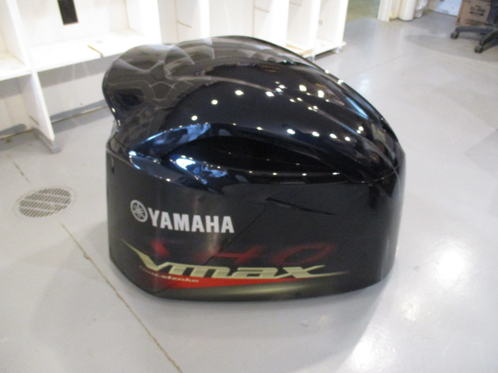 6cb 42610 04 yamaha outboard top engine motor cover cowl for Yamaha boat motor cover