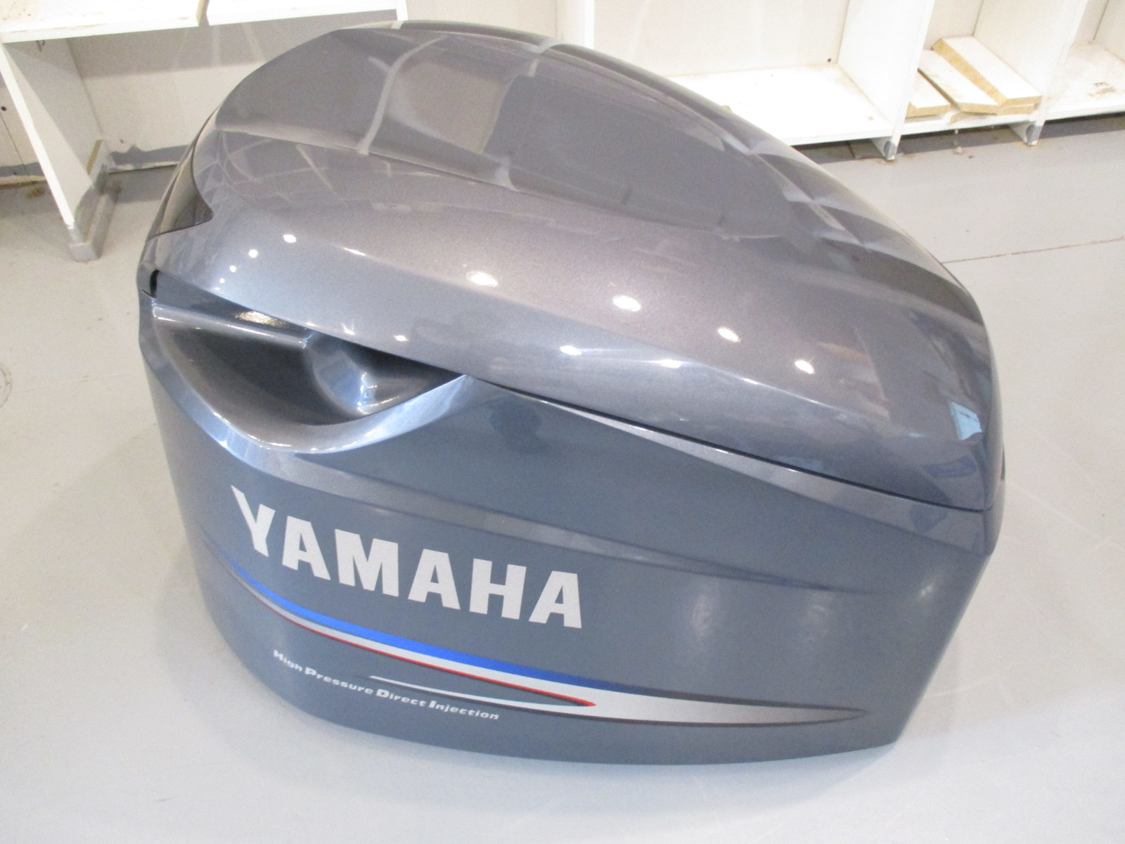 Yamaha outboard top cowl motor cover 250 hp high pressure for Yamaha boat cover