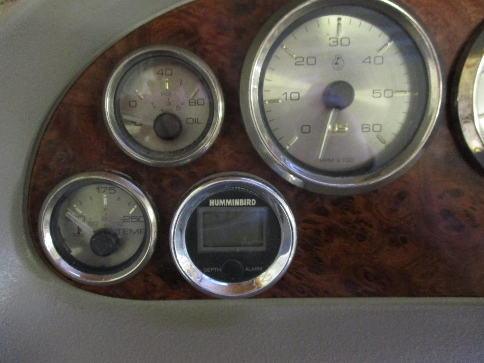 1992 Maxum 1900 Xr Dash Panel Instrument Cluster Gauges